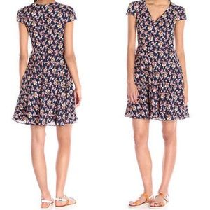 Betsey Johnson floral print fit and flare dress
